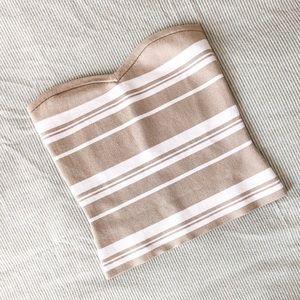 Babaton Olaf Striped Knit top